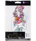 Prima Princesses Cling Stamp 5\u0022X7\u0022-Gabrielle