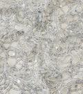 Yaya Han Cosplay Net with Sequins Fabric-Silver