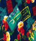 Snuggle Flannel Fabric 41\u0022-Bon Voyage