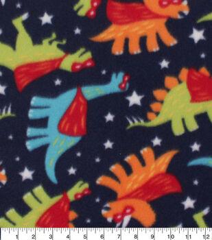 Blizzard Fleece Fabric-Super Dinos