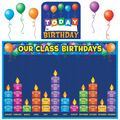 Teacher Created Resources Birthday Graph Bulletin Board Display Set
