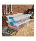 Sterilite Large Clip Storage Box-14\u0022X11\u0022X3.25\u0022 Clear