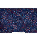 Snuggle Flannel Fabric -Fireworks Display