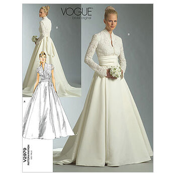 Vogue Patterns Misses Bridal-V2979
