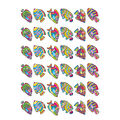 Flashy Fish Sparkle Stickers 12 Packs