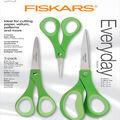 Fiskars Performance Fashion Softgrip Titanium Scissors Set of 3-Parrot