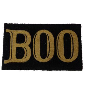Maker's Halloween Coir Mat-Boo