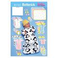 Butterick Pattern B5583 Infants\u0027 Casual Outfits-Size NB-S-M
