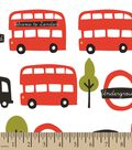 Welcome to London Print Fabric