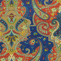 Home Decor 8\u0022x8\u0022 Fabric Swatch-Waverly Lyrical Legend Evening Sky