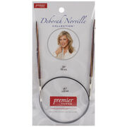 "Deborah Norville Fixed Circular Needles 24"" Size 7/4.5mm, , hi-res"