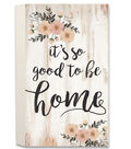 Hello Spring Pallet Wall Decor-It\u0027s So Good to Be Home