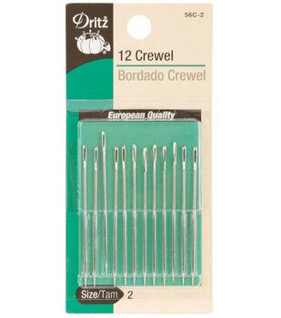 Dritz Crewel Hand Needles-Size 2 12/Pkg
