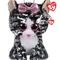 Ty Inc. Fashion Reversible Sequin Kiki Cat Backpack