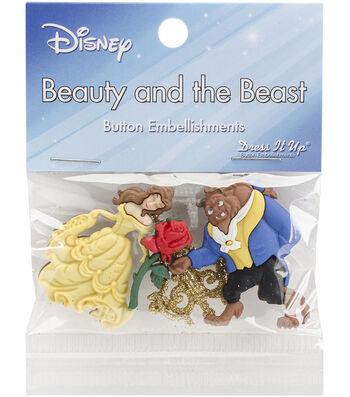 Dress It Up Licensed Embellishments-Disney Beauty & The Beast