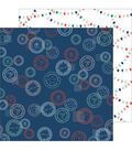Holiday Vibes Double-Sided Cardstock 12\u0022X12\u0022-Seasons Greetings