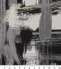 Robert Allen @ Home Print Swatch 55\u0022-Sedge Abstract Charcoal