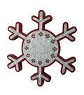 Maker\u0027s Holiday Christmas Snowflake Shaped Decor-Joy