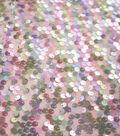 Dance Performance Polyester Sequin Fabric-Multi Utopia