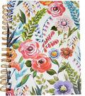 Park Lane 7.5\u0027\u0027x9.5\u0027\u0027 Spiral Notebook-Floral