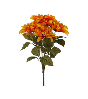 Blooming Autumn Water Resistant Dahlia Bush-Orange