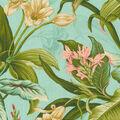 Waverly Upholstery Décor Fabric 9\u0022x9\u0022 Swatch-Wailea Coast In Bloom