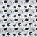 Super Snuggle Flannel Fabric-Farmhouse Animals Words