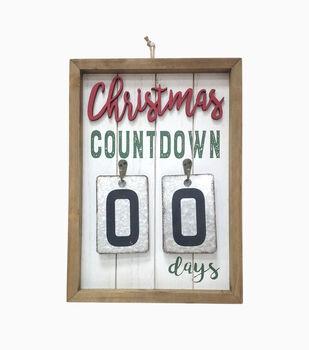 Handmade Holiday Wall Decor-Christmas Countdown