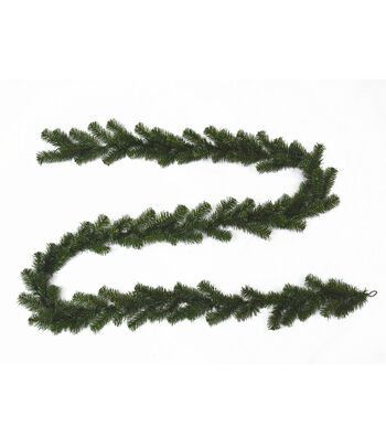 Blooming Holiday Christmas 9' PVC Pine Garland