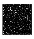 Hero Arts 6\u0027\u0027x6\u0027\u0027 Cling Stamp-Star Light Star Bright Bold Prints