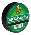 Duck Masking Tape .94\u0022x30yd-Black