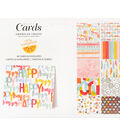 American Crafts Amy Tangerine Oh Happy Life A2 Boxed Cards & Envelopes