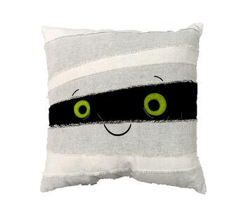 Maker's Halloween 18''x18'' Novelty Pillow-Mummy