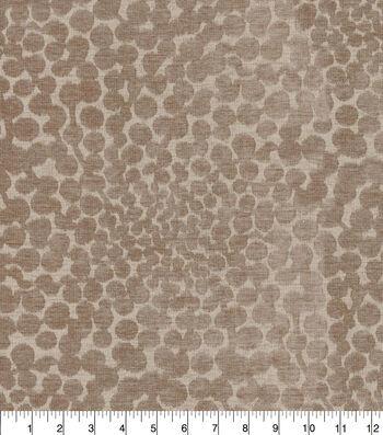 Waverly Upholstery Fabric 54''-Shitake Shadow Bloom