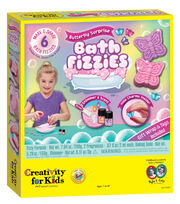 Creativity for Kids Butterfly Surprise Bath Fizzies, , hi-res