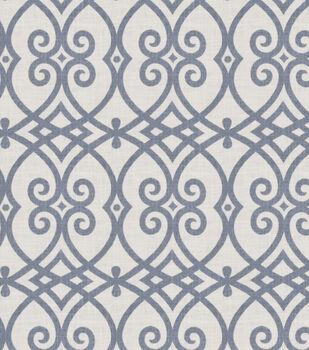 "Jaclyn Smith Multi-Purpose Decor Fabric 54""-Gatework Rot/Indigo"