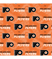 Philadelphia Flyers Cotton Fabric-Tone on Tone, , hi-res