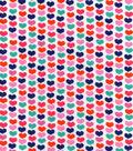 Snuggle Flannel Fabric 42\u0027\u0027-Linear Hearts
