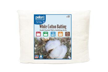 Pellon White Cotton Batting-King
