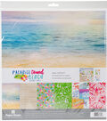 Paper House Paper Crafting Kit 12\u0022X12\u0022-Paradise Found Beach