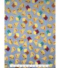 Doodles Juvenile Interlock Knit Fabric 57\u0027\u0027-Pizza & Burgers