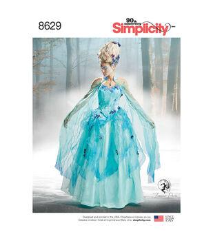 Simplicity Pattern 8629 Misses' Costume-Size H5 (6-8-10-12-14)