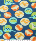 Blizzard Fleece Fabric 59\u0022-Baby Dinosaurs