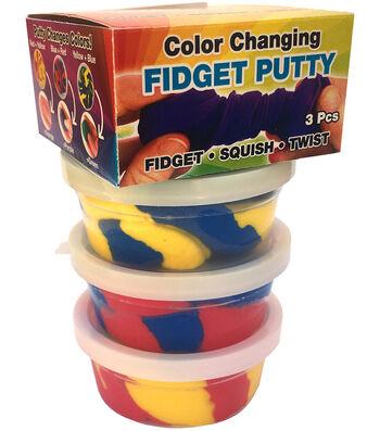Zorbitz 3 pk Color Changing Fidget Putties