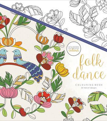 Folk Dance-kaiser Coloring Book