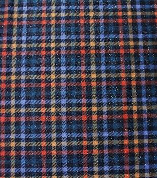 Sew Sweet Plaid Fabric-Small Fall Madras Plaid