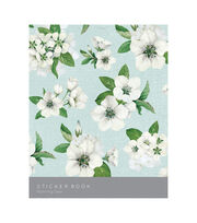 Kaisercraft Sticker Book 6''X8'' 12/Pages-Morning Dew, 6 Designs/2 Each, , hi-res