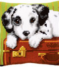 Vervaco 16\u0027\u0027x16\u0027\u0027 Cushion Counted Cross Stitch Kit-Dalmatian