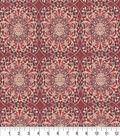 Keepsake Calico Cotton Fabric -Cenatory Garnet