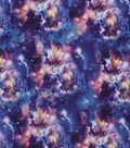 Wide Cotton Fabric-Space